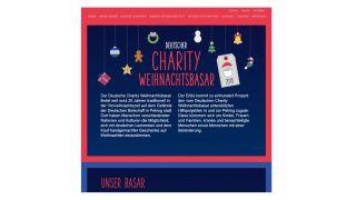 Deutscher Charity Weihnachtsbasar >